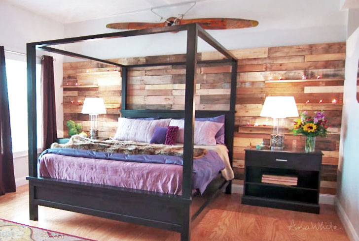 farmhouse bed with canopy black canopy bed