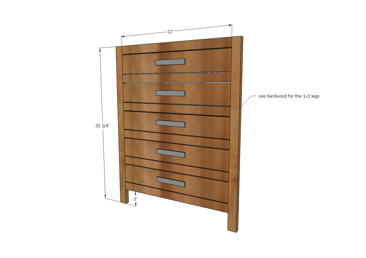 Attach Drawer Faces With 1 1/4