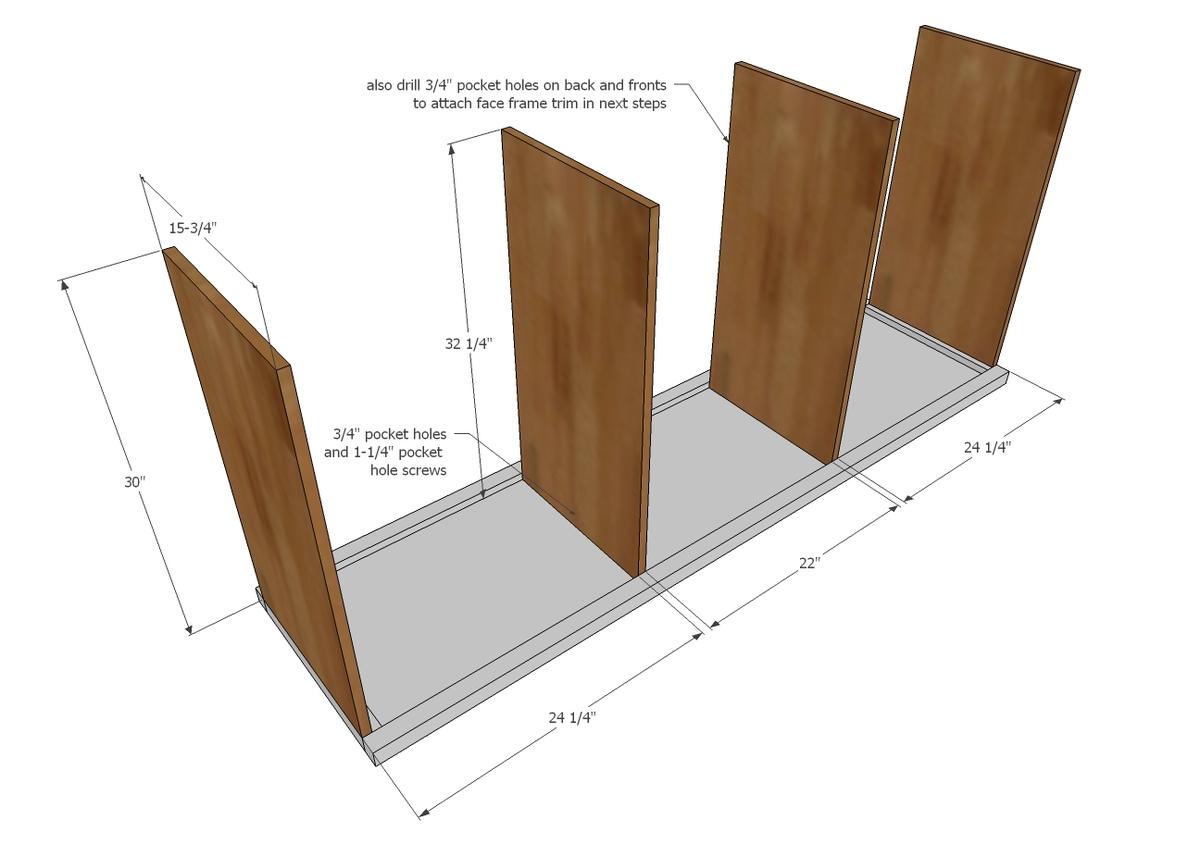 Do It Yourself Home Design: Hidden Desk Apothecary Cabinet