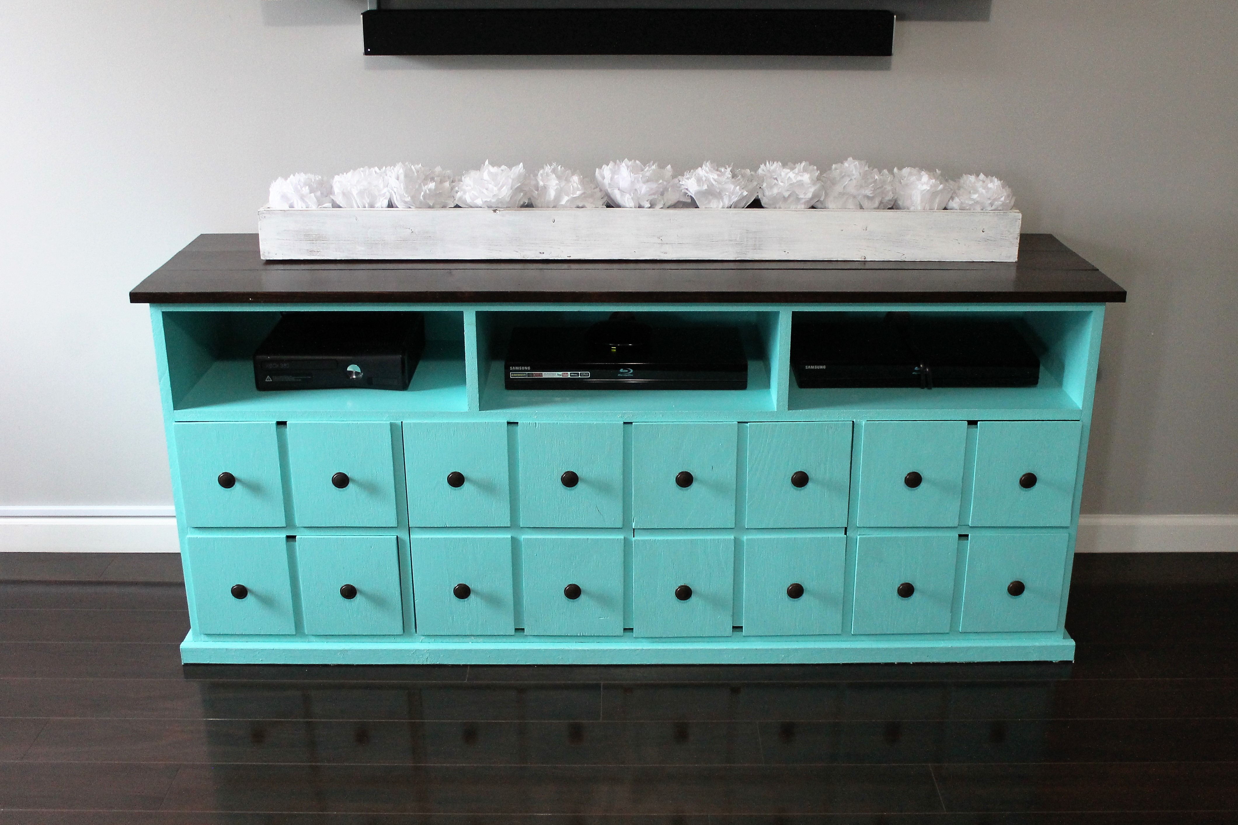 Ana White | APOTHECARY STYLE ENTERTAINMENT CENTER - DIY Projects