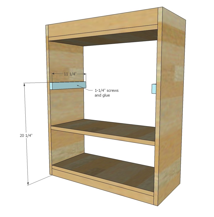 Attach Shelves Next, With The Top And Bottom Shelves On Top/bottom Of  Boards From Step 1. Recommend Attaching First With Pocket Holes, Than Glue  And Nailing ...