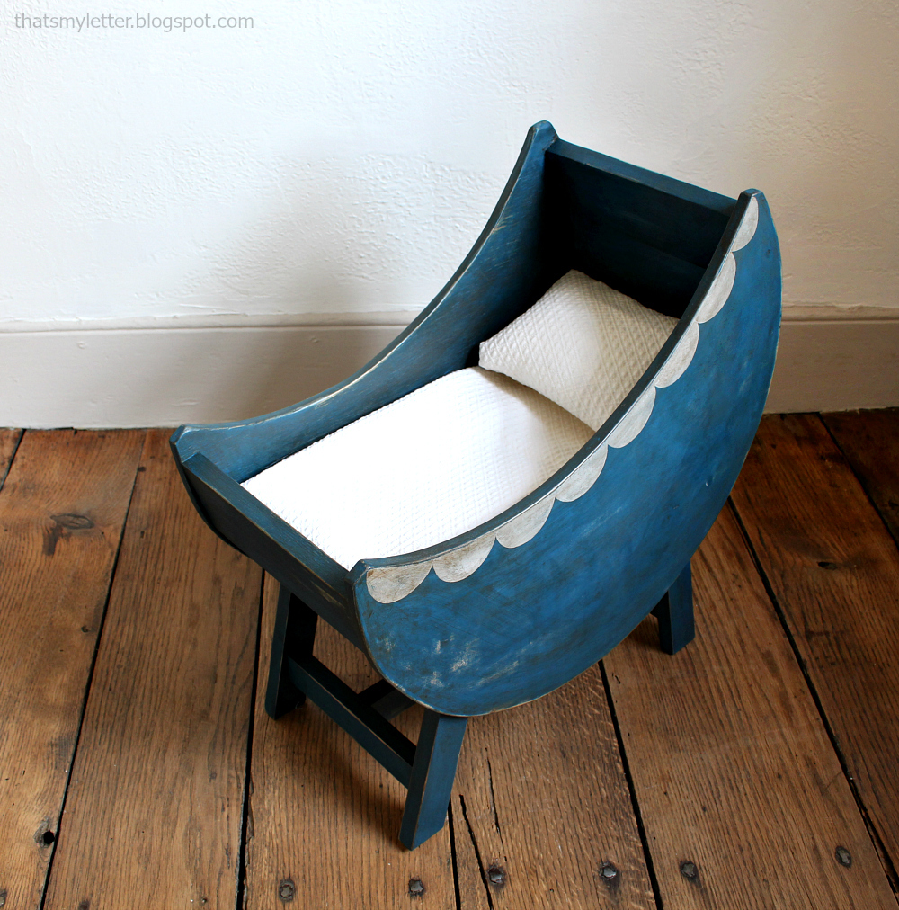 Nice Free plans to build a baby doll furniture moon bassinet Easy tutorial by ana white
