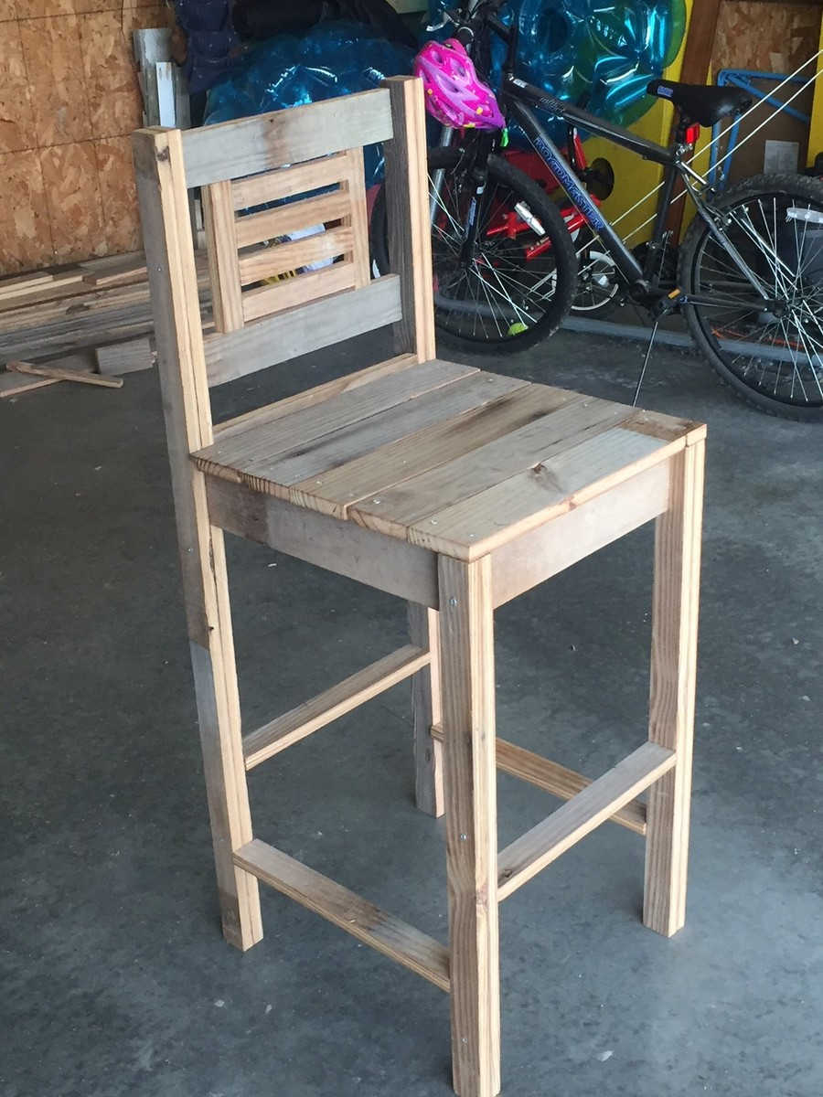 Old Barn Wood Bar Stools Ana White