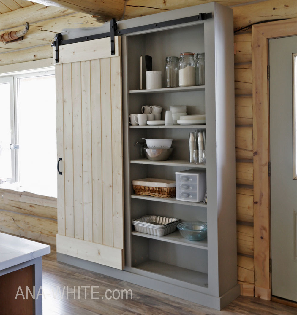 Barn Door Cabinet Or Pantry