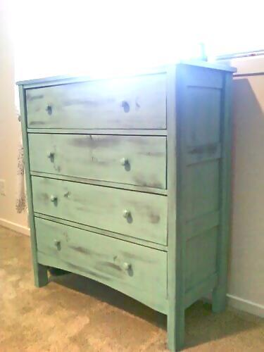A Beach Cottage Style Dresser Featuring Four Drawers And Narrower Profile Built By Patrick You Can Read The Brag Post Here