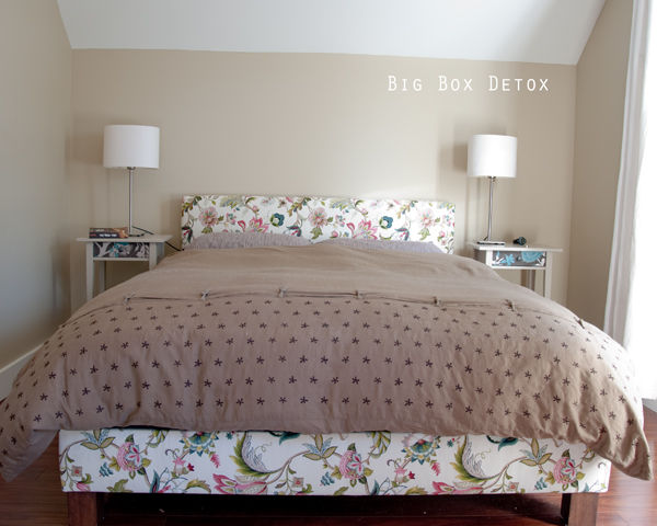 how to build upholstered bed 2