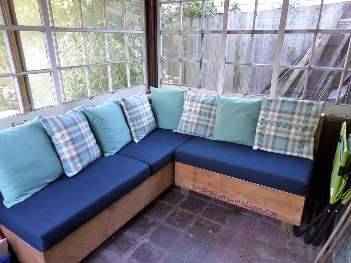 Ana White | Storage Sectional - DIY Projects