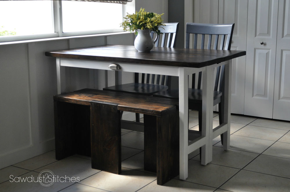 Convertible Toddler Table Bench  DIY Plans