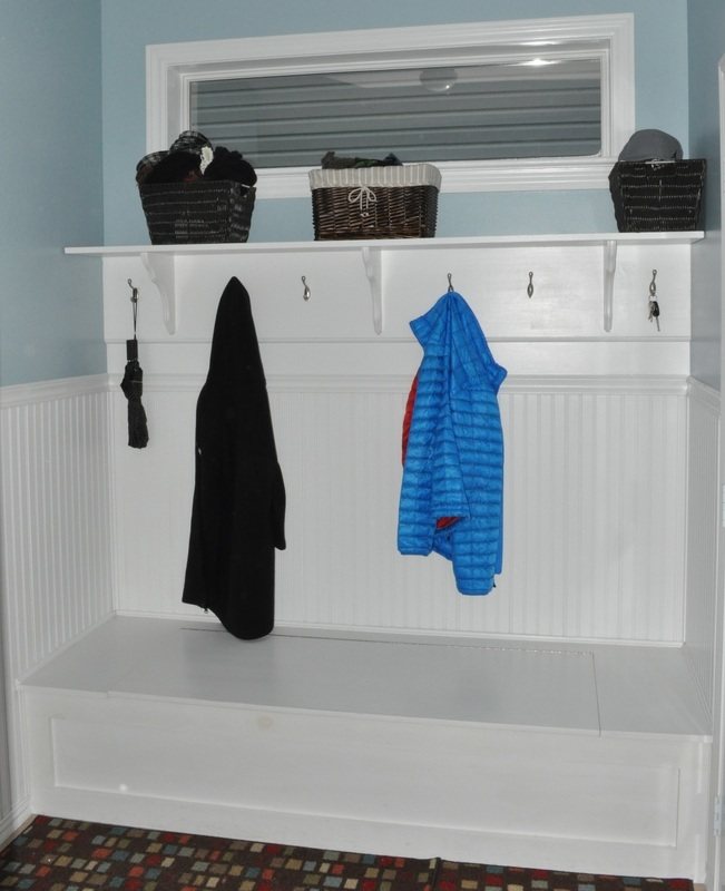 Mudroom Bench Built In Ana White