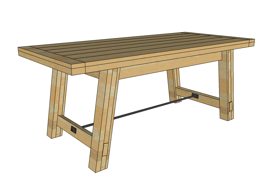 dining table free dining table bench plans