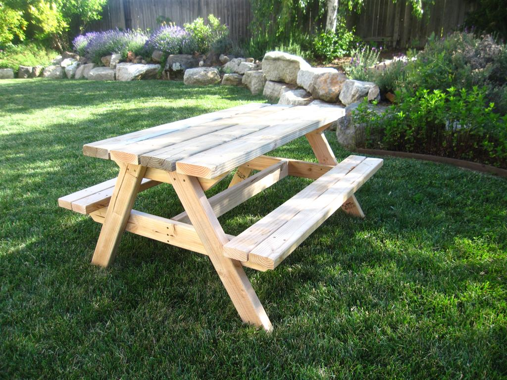 Strange Build A Bigger Kids Picnic Table Plans Ana White Dailytribune Chair Design For Home Dailytribuneorg