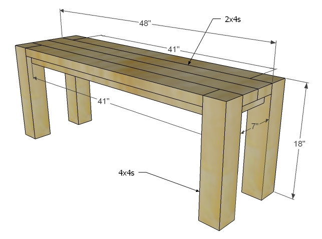 Workbench Plans Using 24 Woodproject