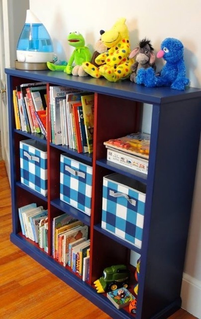 Ana White Large Cubby Bookshelf For Nursery Diy Projects