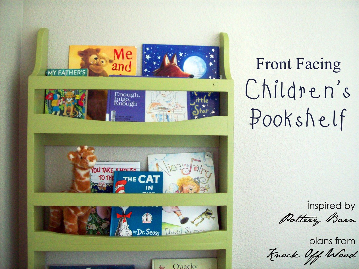 Ana White | Front Facing Bookcase - DIY Projects