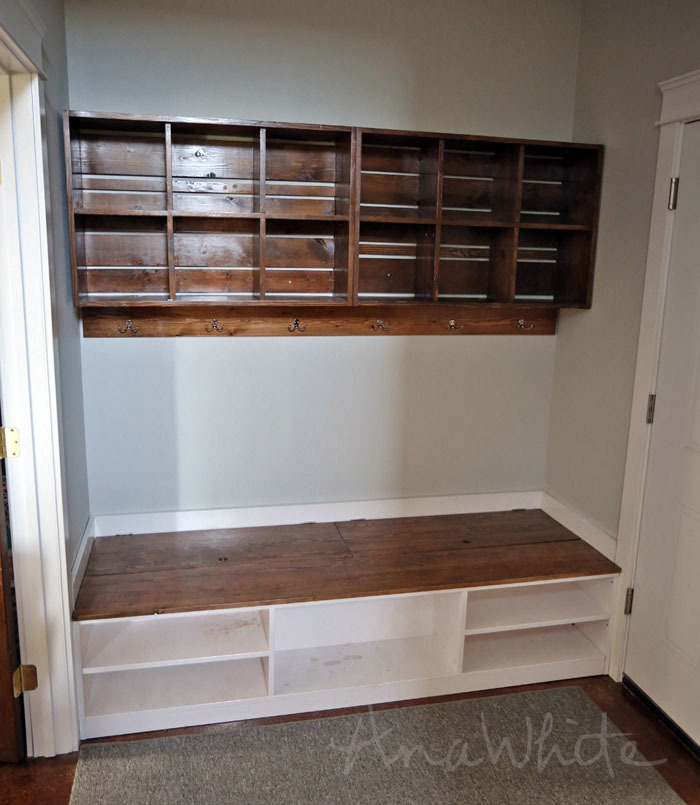 Ideal Ana White | Wall Cubby Crate Shelves - DIY Projects TQ68