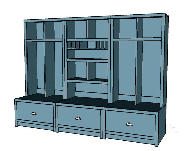 entryway systems furniture. plans inspired by pottery barn brady entryway lockers systems furniture