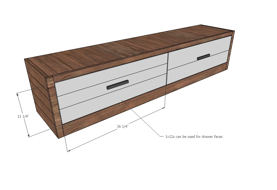 Ana White Brandy S Wood Storage Bed With Drawers King Diy Projects