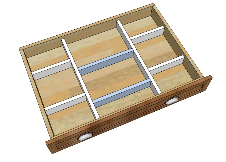 Ana white wood drawer organizers diy projects