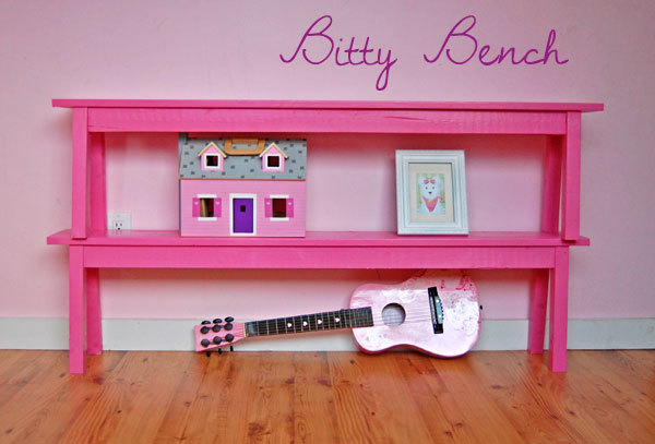 Ana White   Build the Bitty Bench - DIY Projects