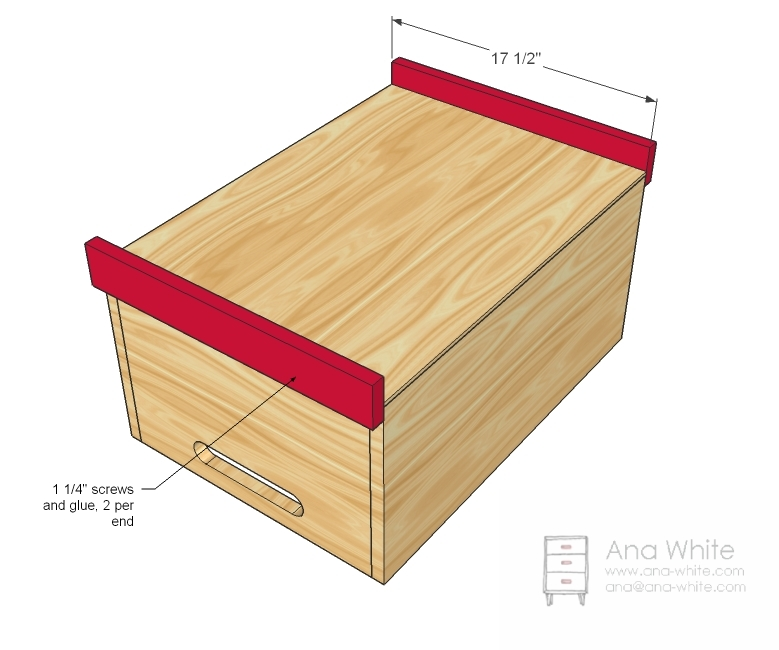 Easy Toy Chest Plans http://ana-white.com/2010/11/stacking-toy-boxes ...