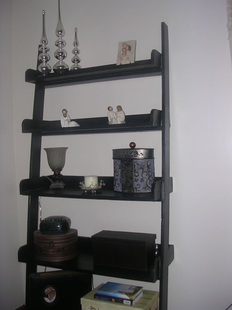 Ana White Leaning Wall Shelf My First Build Diy Projects