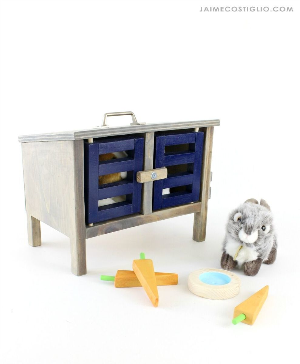 Toy Bunny Hutch Ana White
