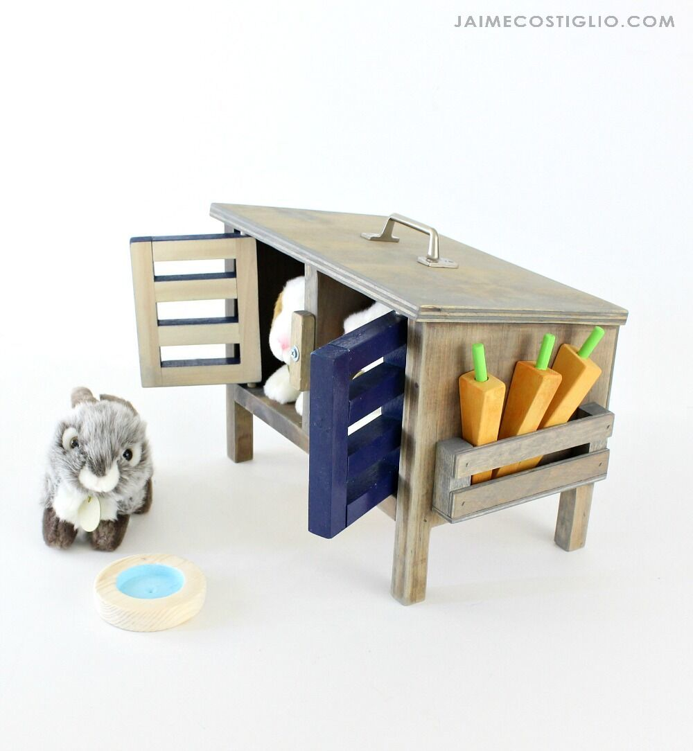 Ana White   Toy Bunny Hutch - DIY Projects