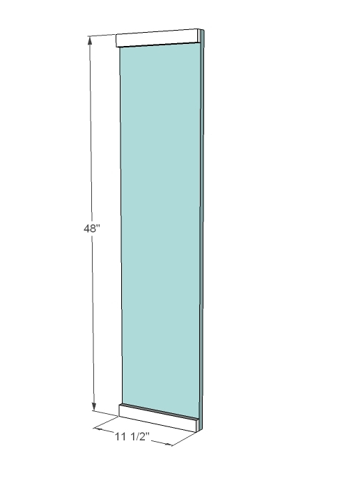 5 1x12 7 1 2 Assuming Your 1x8 Drawer Fronts Are 4 Wide Adjust To Fit 1x8s 10 For Drawers