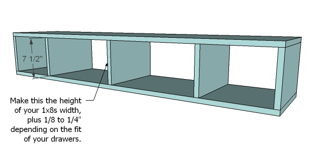 Top Just Because The Piece Is So Large And Back Adds Much Strength If Your Shelf Fixed Attach To Too With 1 4 Screws Glue