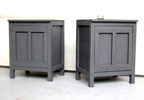ana white   cabin collection nightstands - diy projects Make Your Own Nightstand
