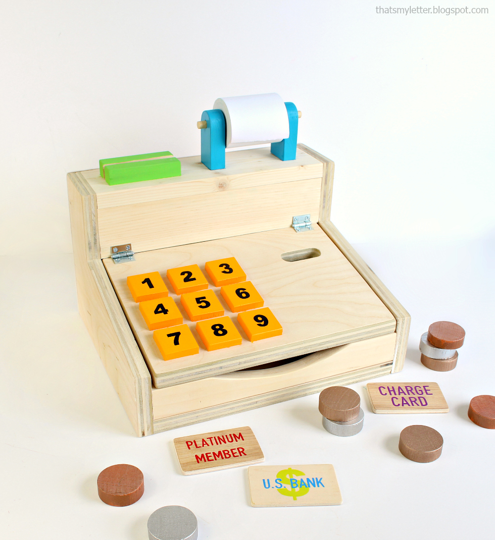 wood cash register diy plans | ana white