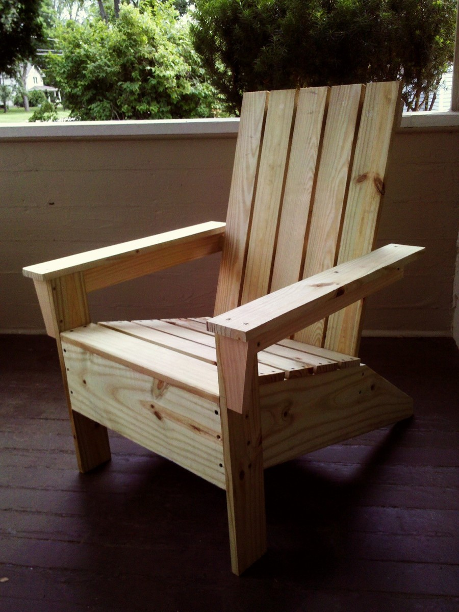 Do It Yourself Home Design: First Adirondack Chair! - DIY Projects