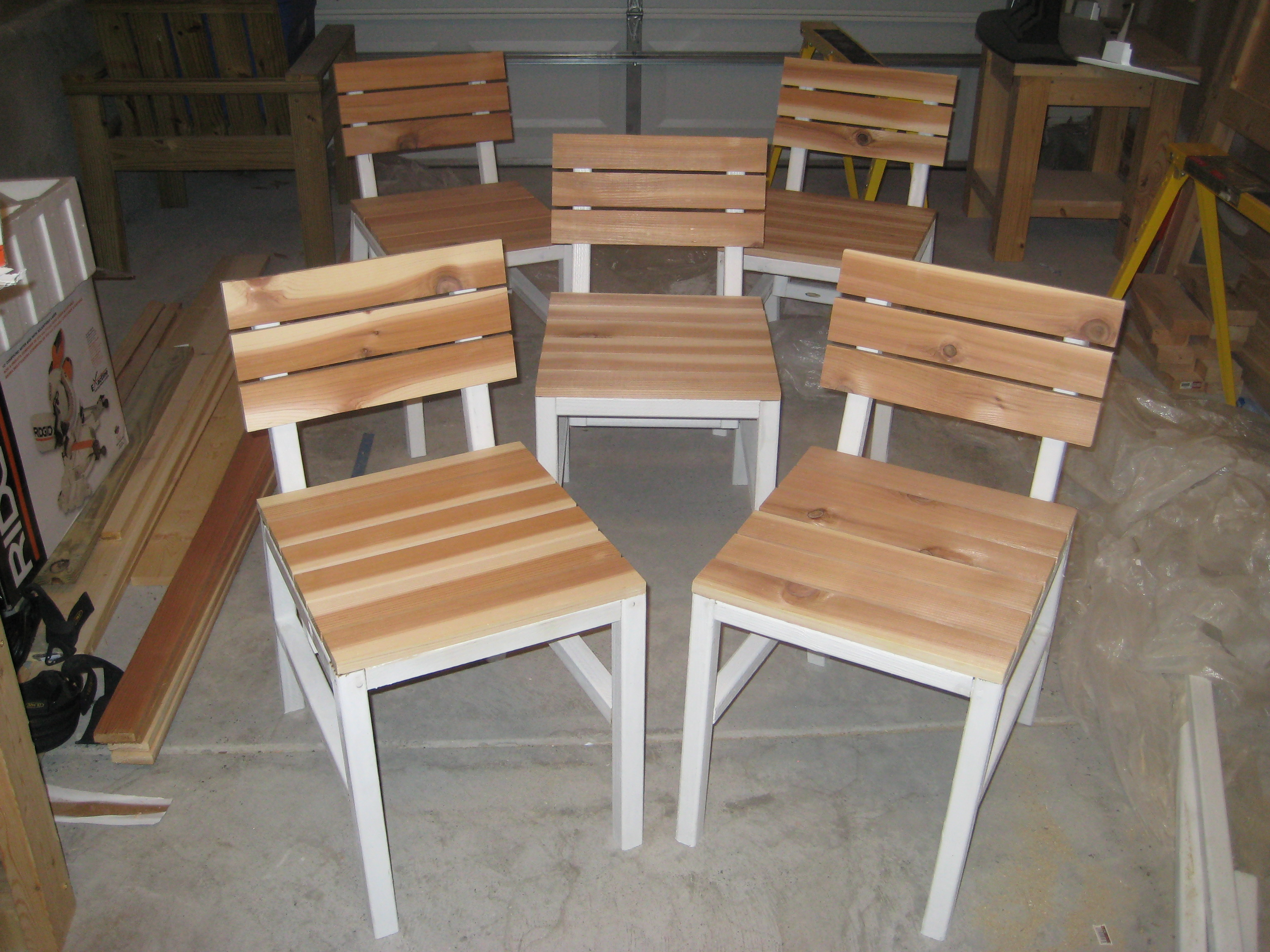 Chairs Finished