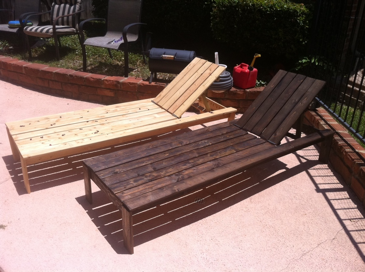 DIY Chaise Lounge Chairs - DIY Projects