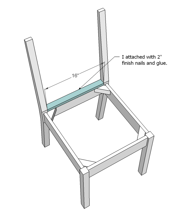 Preparing the chair feet
