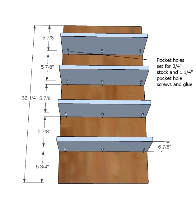 Kreg Jig Shoe Rack Plans PDF Woodworking