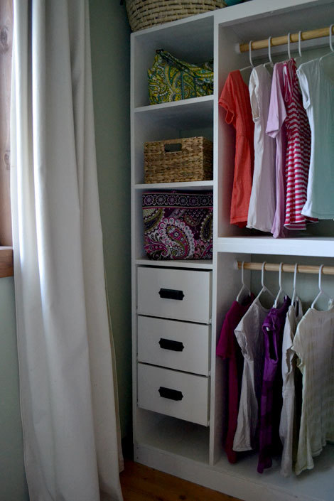 with closet com inst organizer amazon fabric home shelf drawers slp essentials drawer hanging system gray adorn set tier