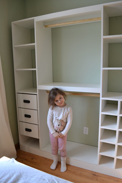 baby perfect shelves diy closets ohperfect design building closet