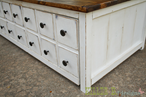 antique white furniture paint Coffee Stained Antique White | Ana White Woodworking Projects antique white furniture paint