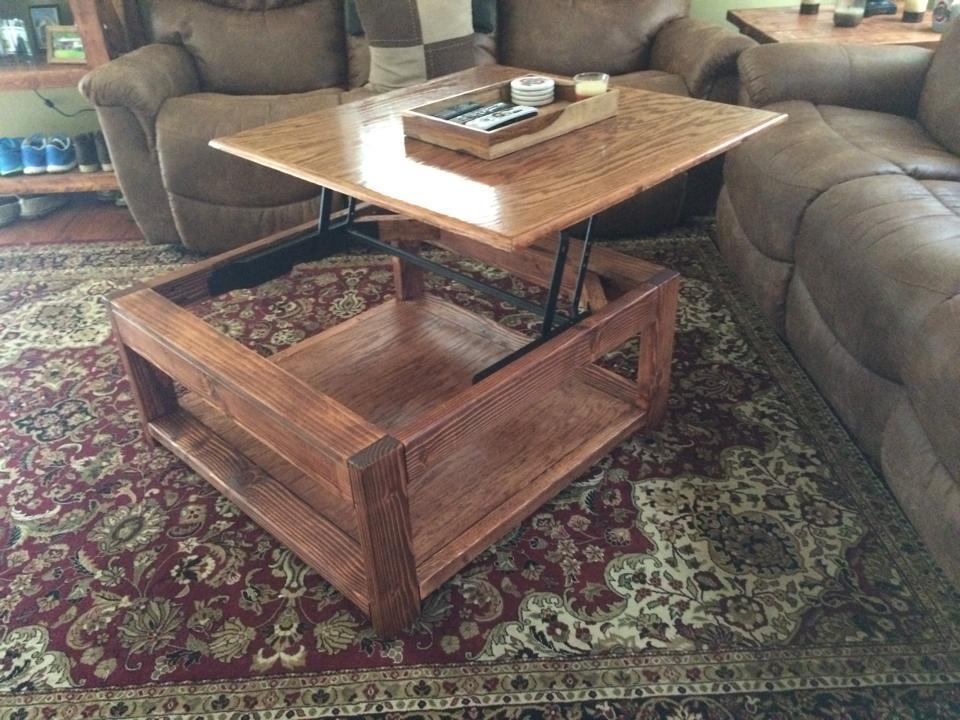 ana white lift top coffee table diy projects. Black Bedroom Furniture Sets. Home Design Ideas