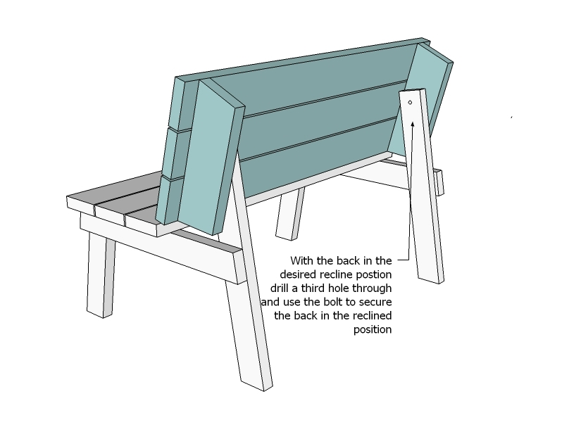 Picnic Table That Converts To Benches Ana White