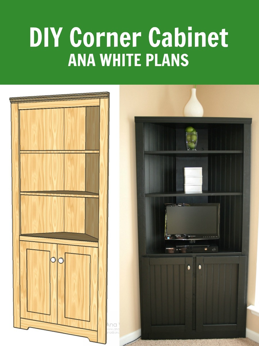 20 Corner Cabinets To Make A Clutter Free Bathroom Space: Corner Cabinet Storage Shelf