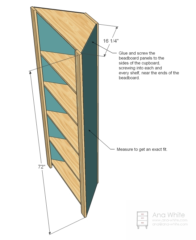 woodworking plans corner shelves | European Woodworking Plans
