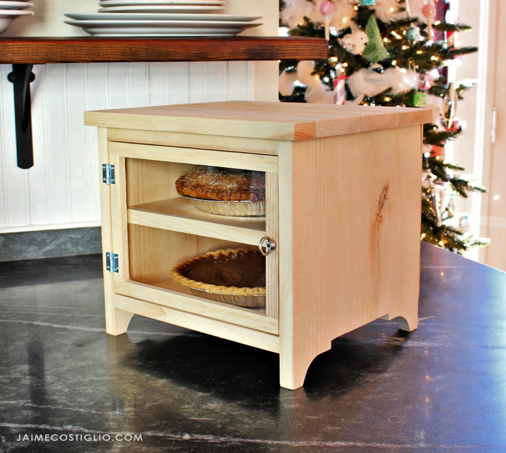 countertop pie safe