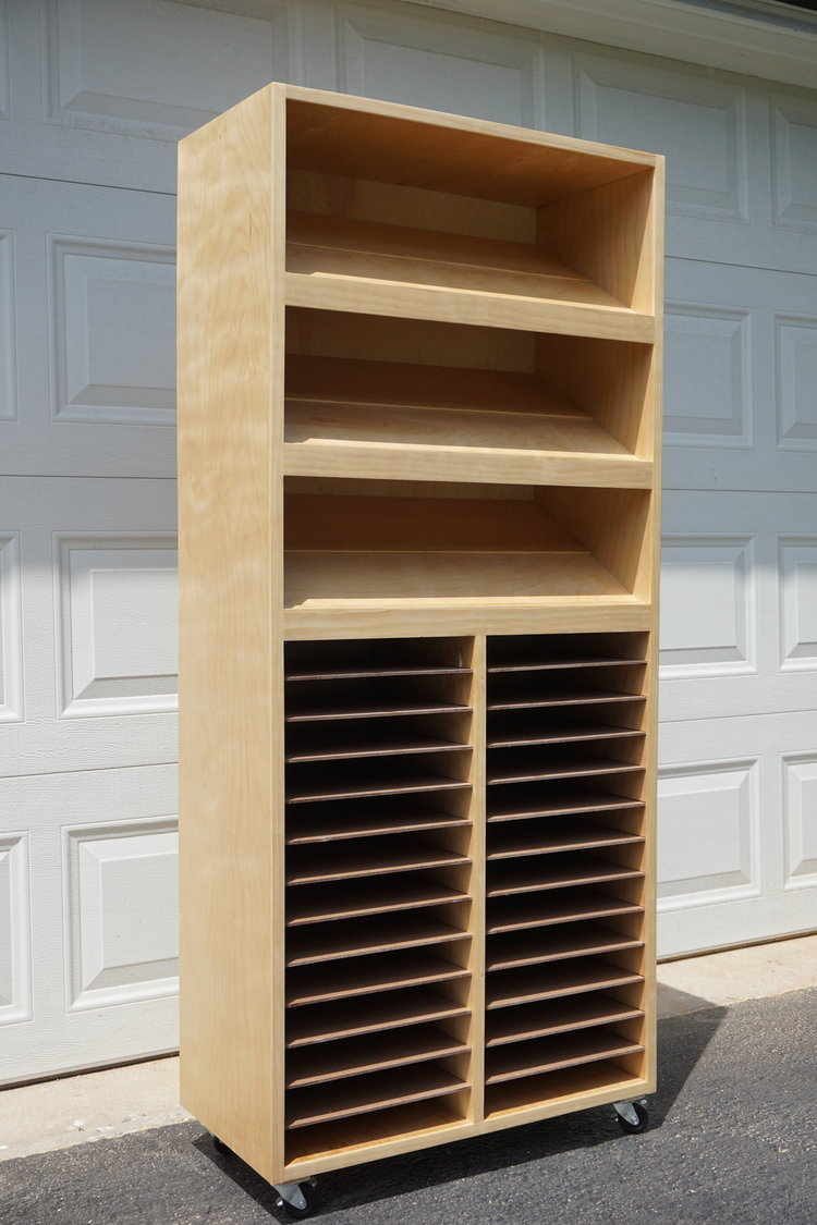 You Can See Full Design Plans Of The Craft Paper Punch Storage Cabinet On My Blog Chairtybuilds