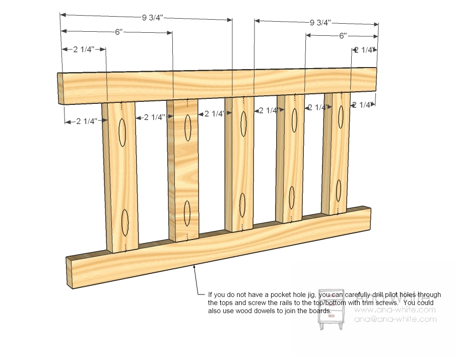 How to Build Homemade Crib PDF Plans