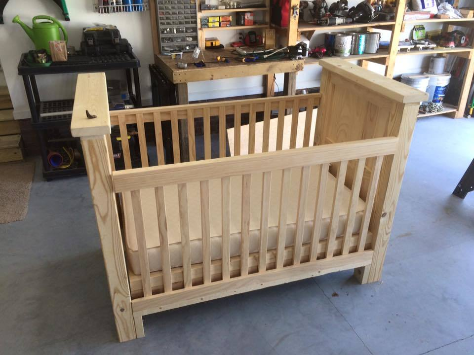 Ana White | rustic baby crib - DIY Projects