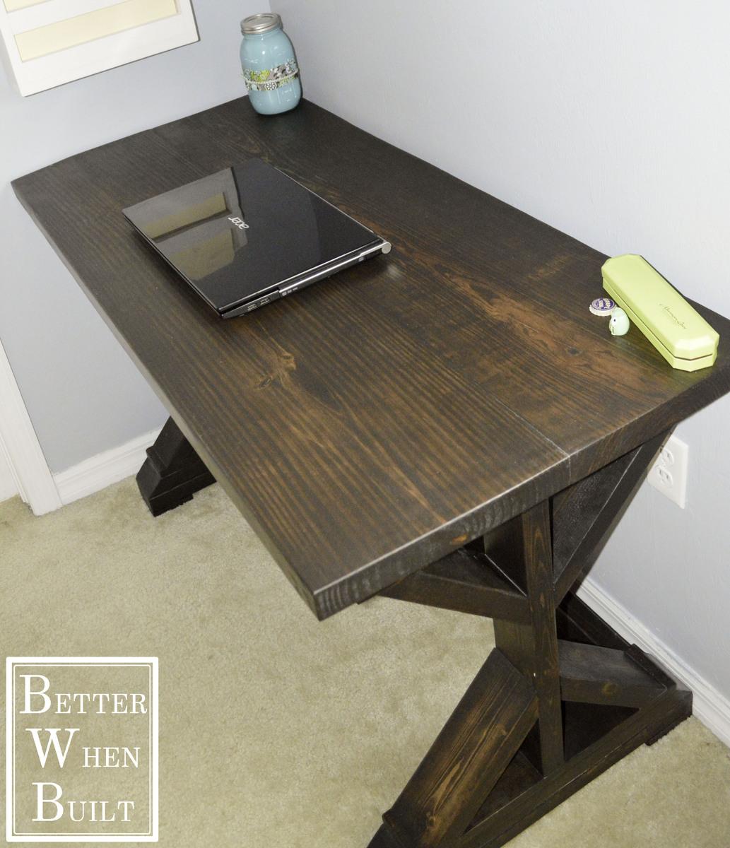 Fancy X Desk Ana White