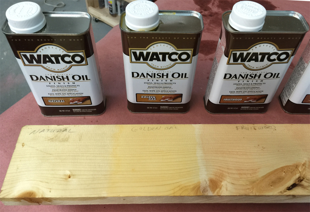 Danish Oil - Stains, Seals, Protects in One Easy Coat | Ana White