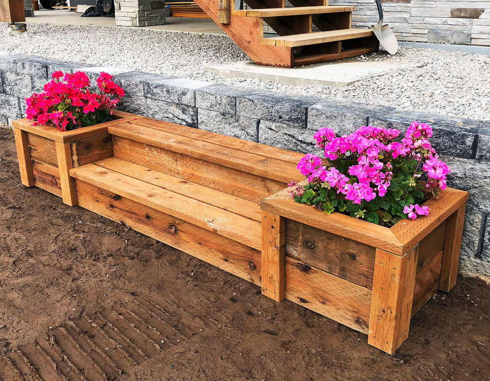 Pictures Of Sundecks Stairs And Benches: Outdoor Planter Steps Or Benches - DIY Projects